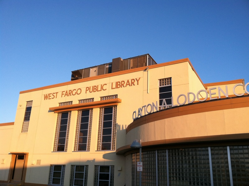 Library Exterior 2011 12 17 31JPG West Fargo Public Map